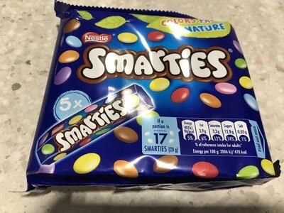 Smarties 5x38gr