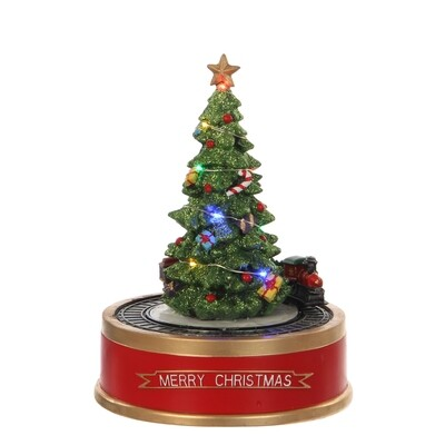 Luville Kerstboom Met Trein & Licht