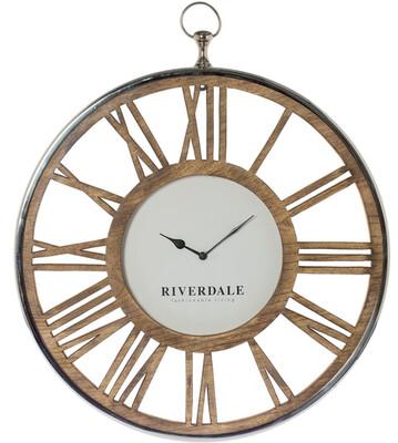 Riverdale wandklok Luton D60H68cm