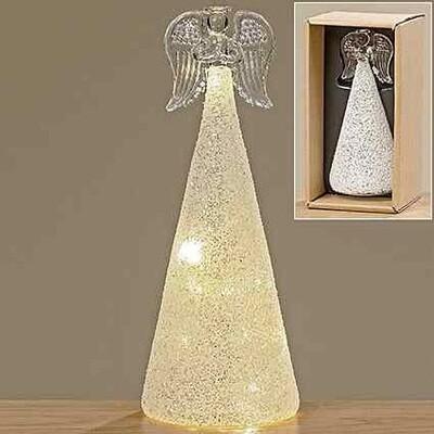 LED angel jiska h23cm glas