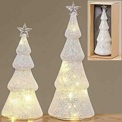 LED tree jiska h22cm glas (1STUK)