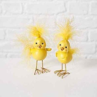 chick kari h13cm geel polystone