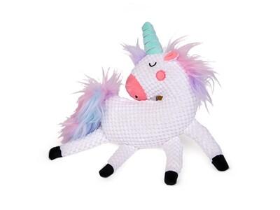 DOGTOY pluche unicorn paard 32cm