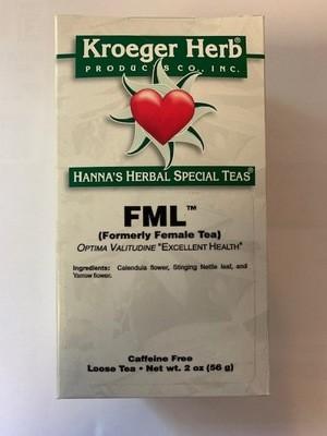 FML (Female Tea)   2 oz Loose Tea