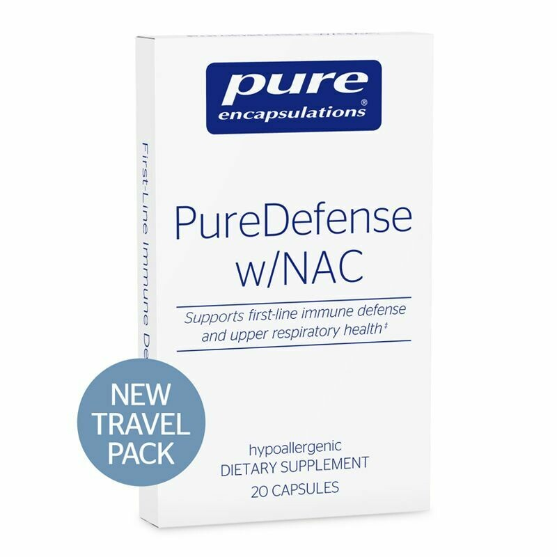 Pure Defense w/NAC Travel Pack