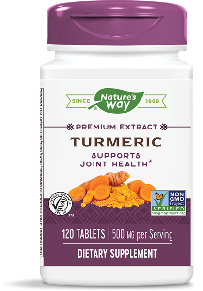 Turmeric Standardized    120 count