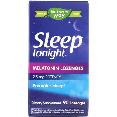 Sleep Tonight Melatonin Lozenge 2.5 mg