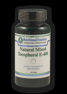 Natural Vitamin E - 60 count