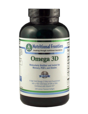 Omega 3D - 240 count