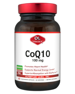 CoQ10 -100mg   60 ct