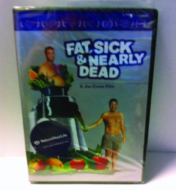 FAT, SICK & NEARLY DEAD   DVD