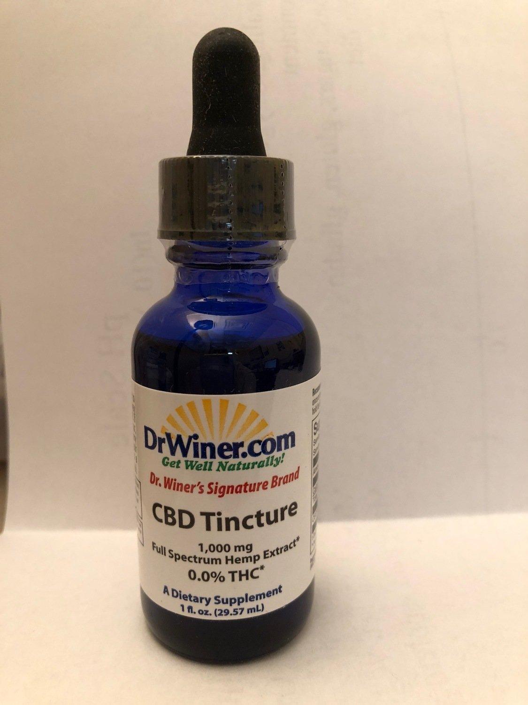 Dr. Winer's Signature Brand Broad Spectrum CBD Oil