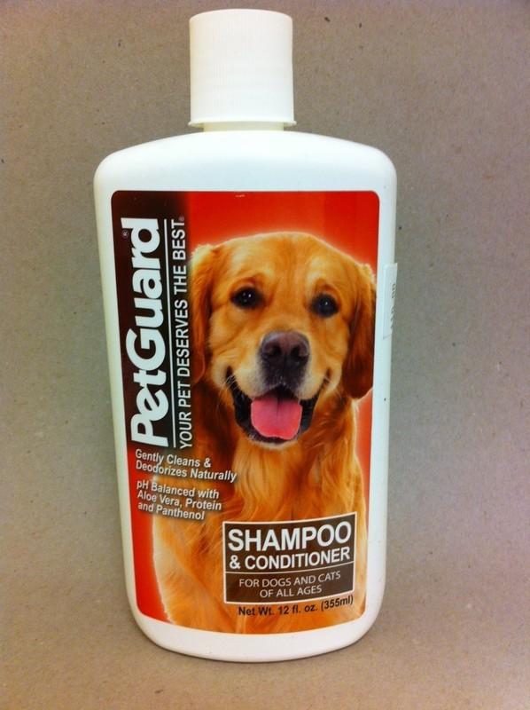 PetGuard Shampoo and Conditioner