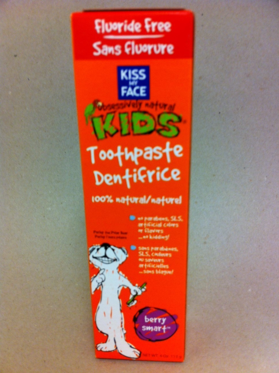 Natural Kid's Toothpaste