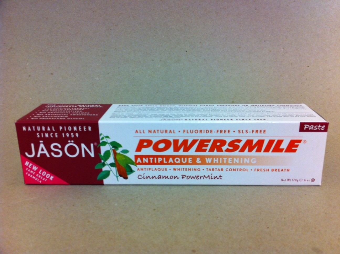 Jason Cinnamon PowerMint Toothpaste