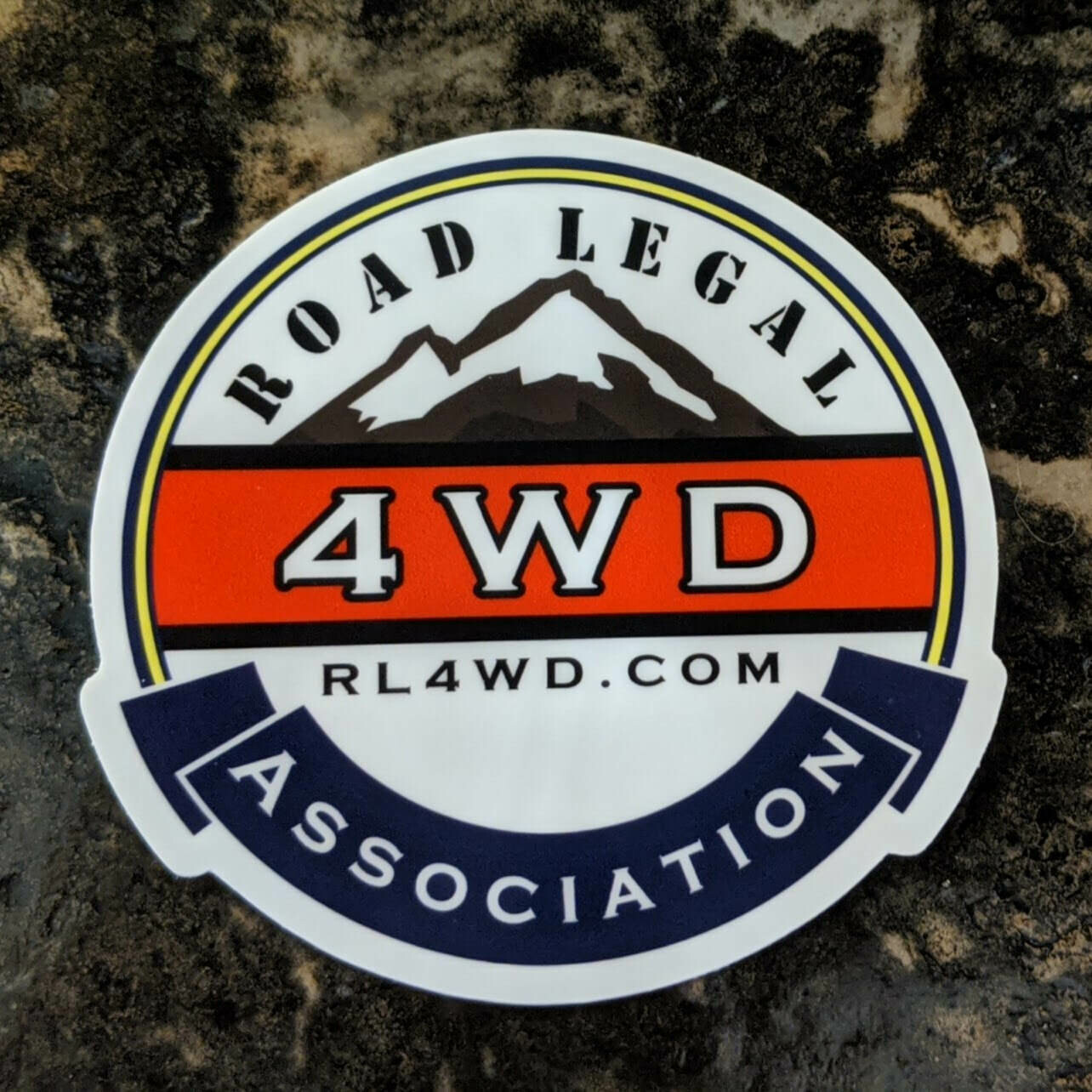RL4WDA Sticker