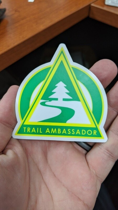 Trail Ambassador Sticker Set