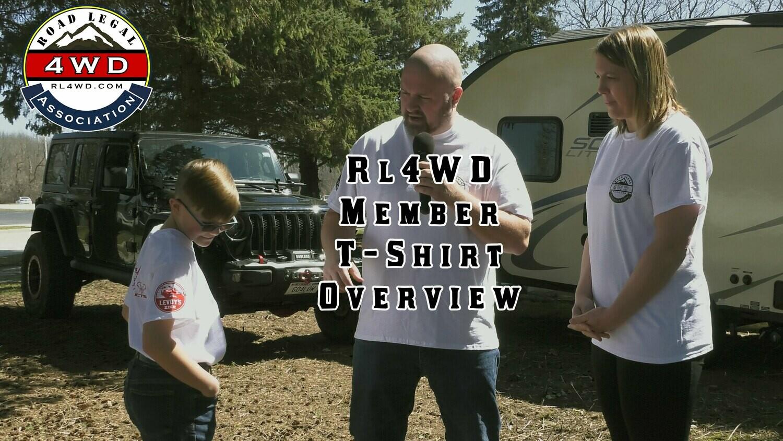 RL4WD Black Sponsor T-Shirt