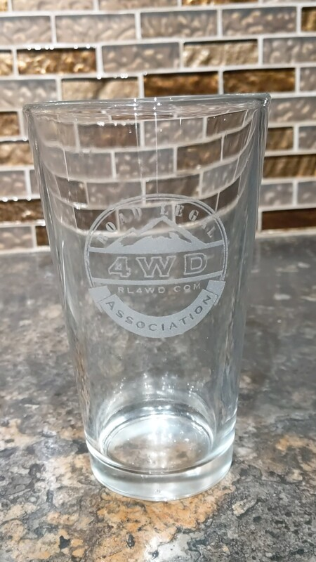 RL4WD Pint Glass