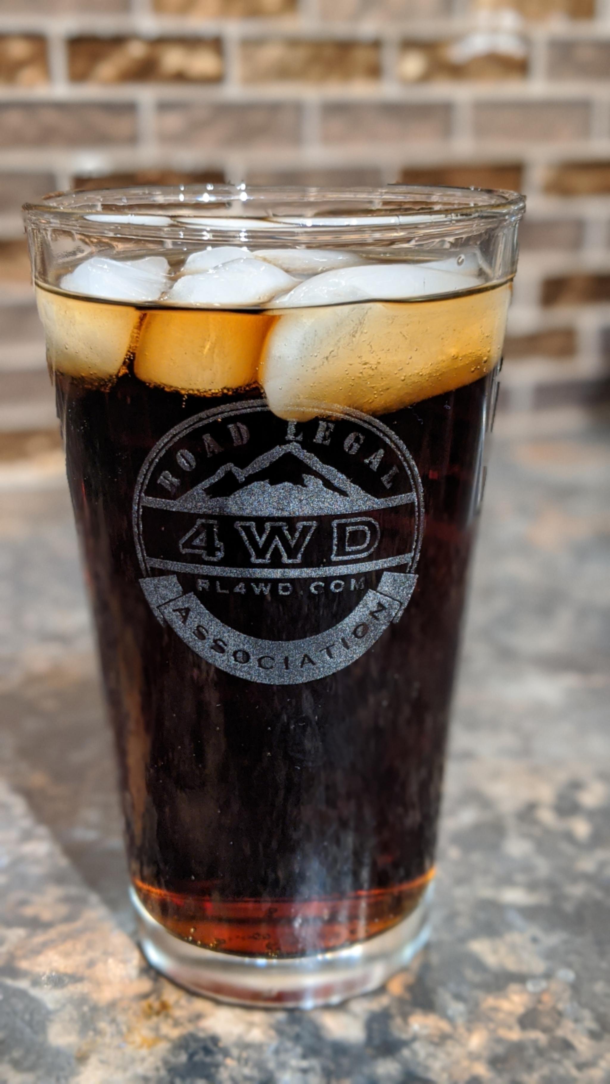 RL4WD Pint Glass