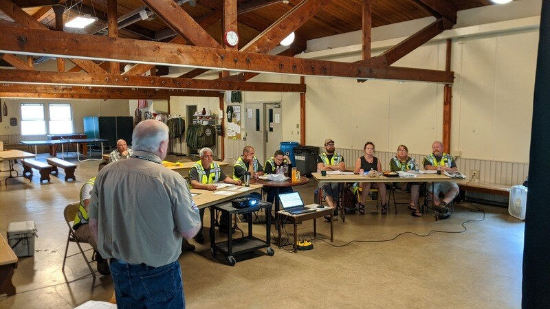 Oct 2020 Camp Sinawa Trail Ambassador Field Day Training