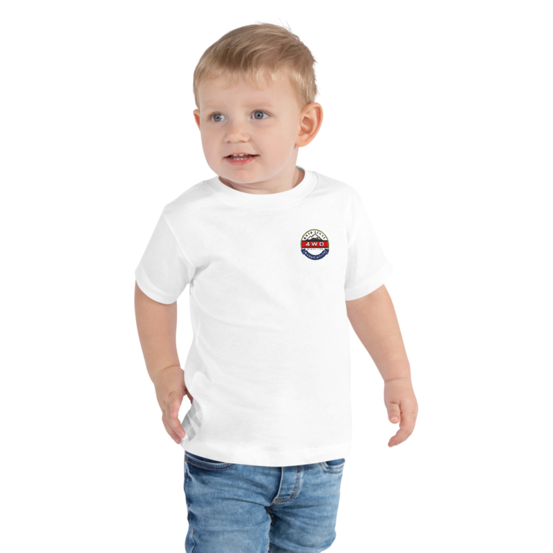 Toddler Short Sleeve RL4WD Printed Tee