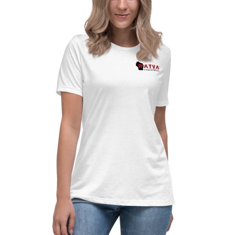 WATVA Women's Relaxed Printed T-Shirt
