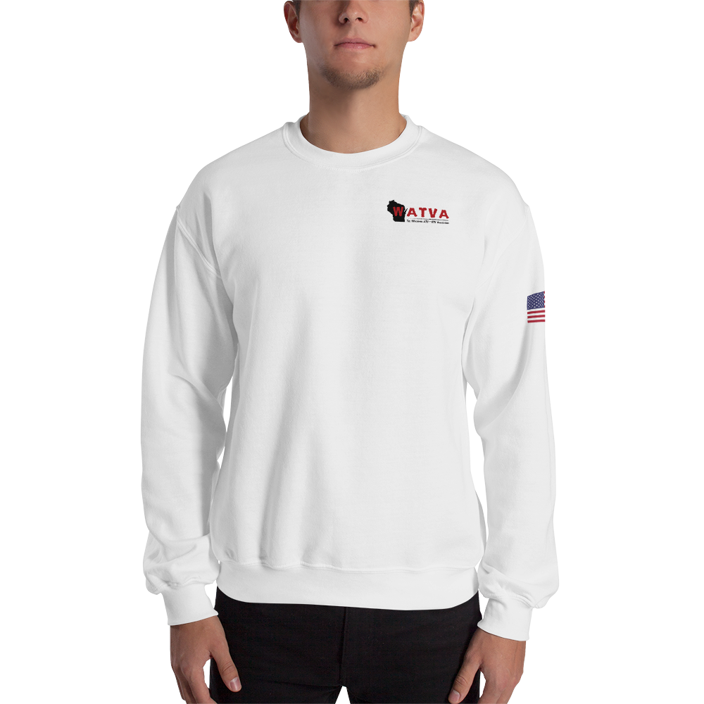 WATVA Unisex USA Printed Sweatshirt