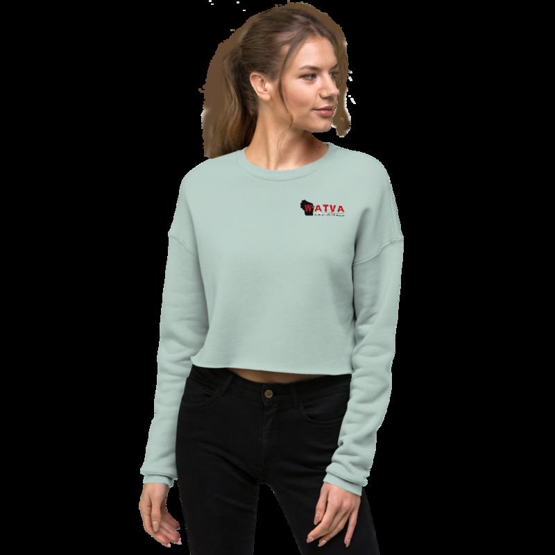 WATVA Woman's Crop Sweatshirt