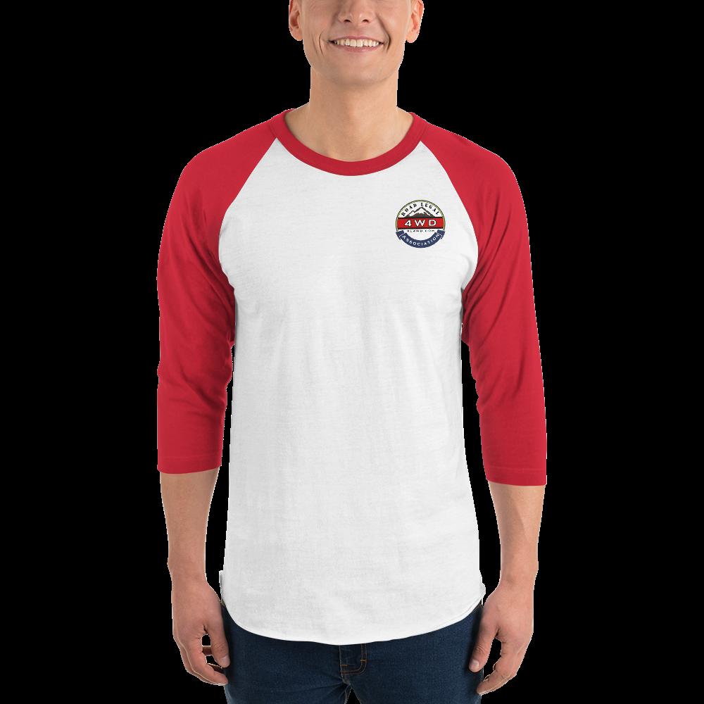 3/4 sleeve RL4WD raglan printed shirt