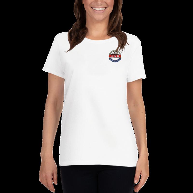 Women's RL4WD short sleeve printed t-shirt
