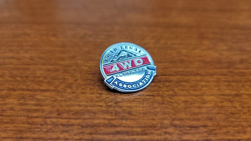 Silver Metal RL4WD Collectors Pin