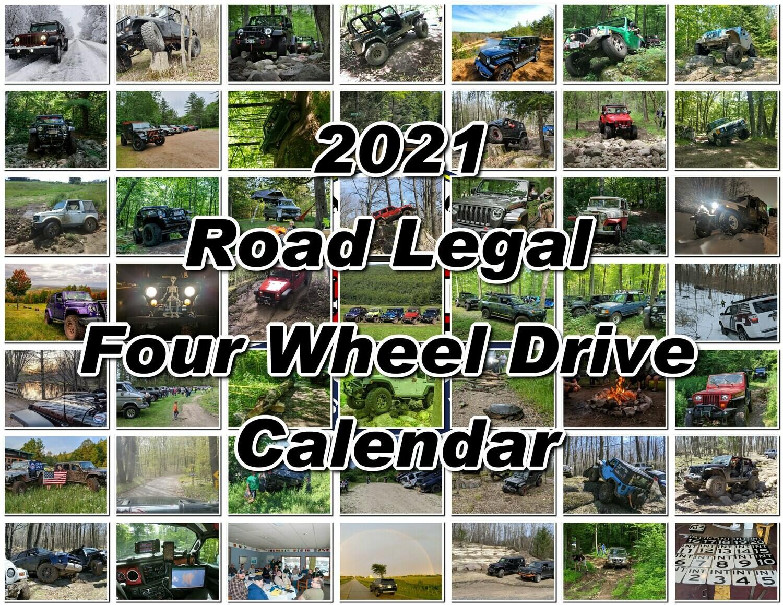 2021 RL4WD Calendar Fundraiser