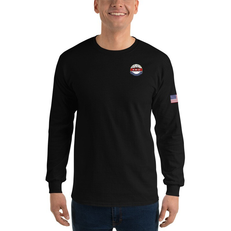 Men's Long Sleeve Glacial Lake RL4WD USA Shirt