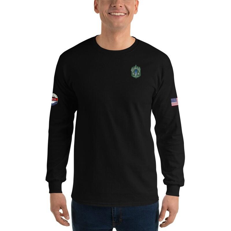 Men's Glacial Lake 4X4 RL4WD USA Basic Long Sleeve Shirt