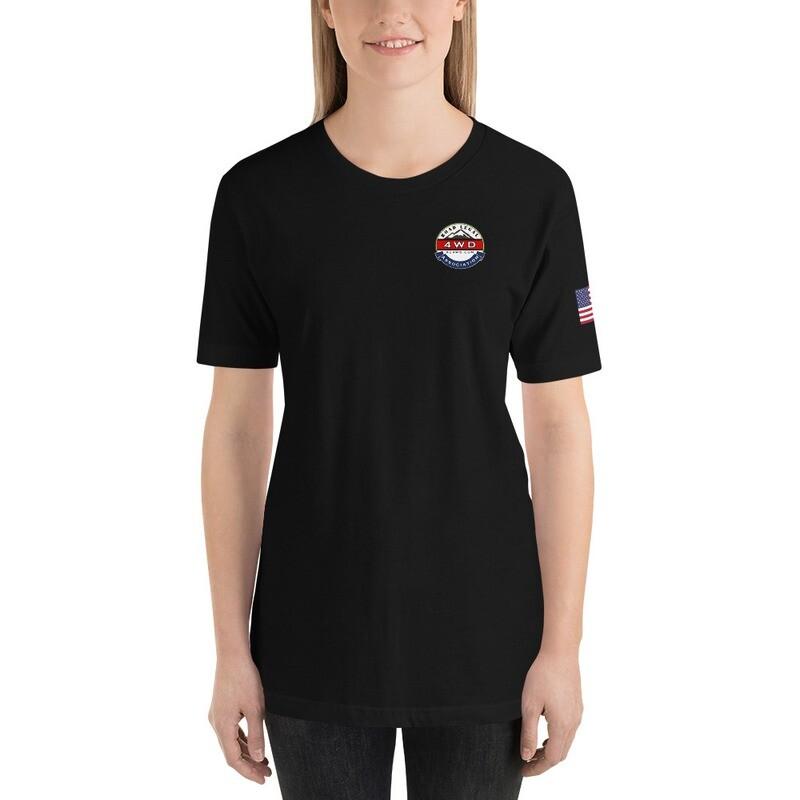 Glacial Lake 4X4 RL4WD USA Full Back Short-Sleeve T-Shirt