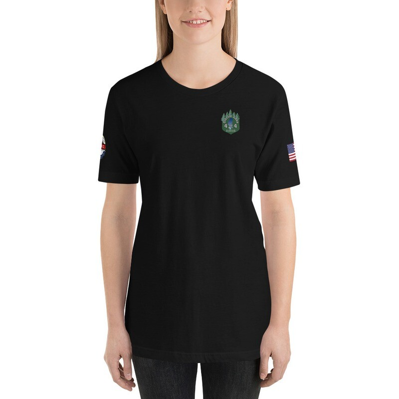 Woman's Glacial Lake RL4WD USA 4X4 Short-Sleeve T-Shirt