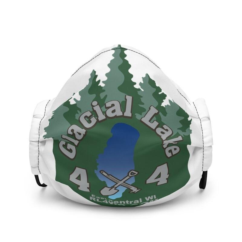 Glacial Lake 4X4 Premium face mask