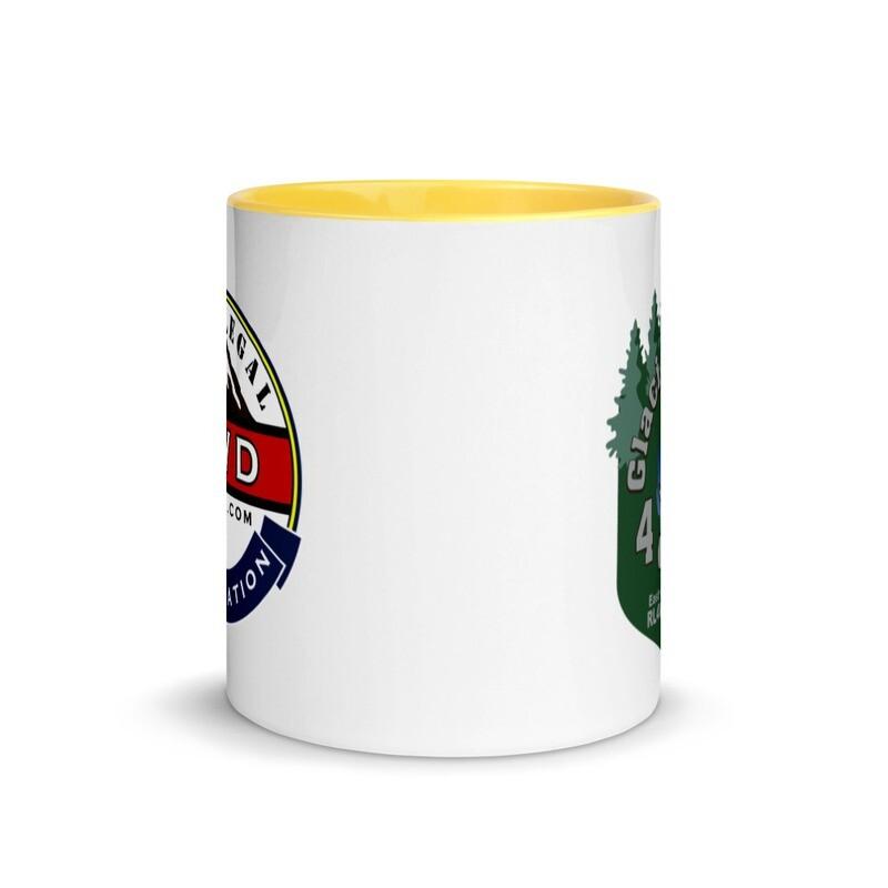 Glacial Lake 4X4 RL4WD Mug with Color Inside