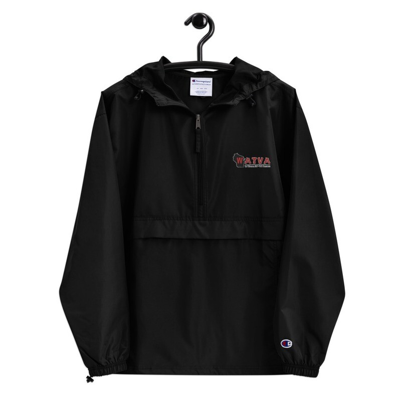 WATVA Embroidered Champion Packable Jacket