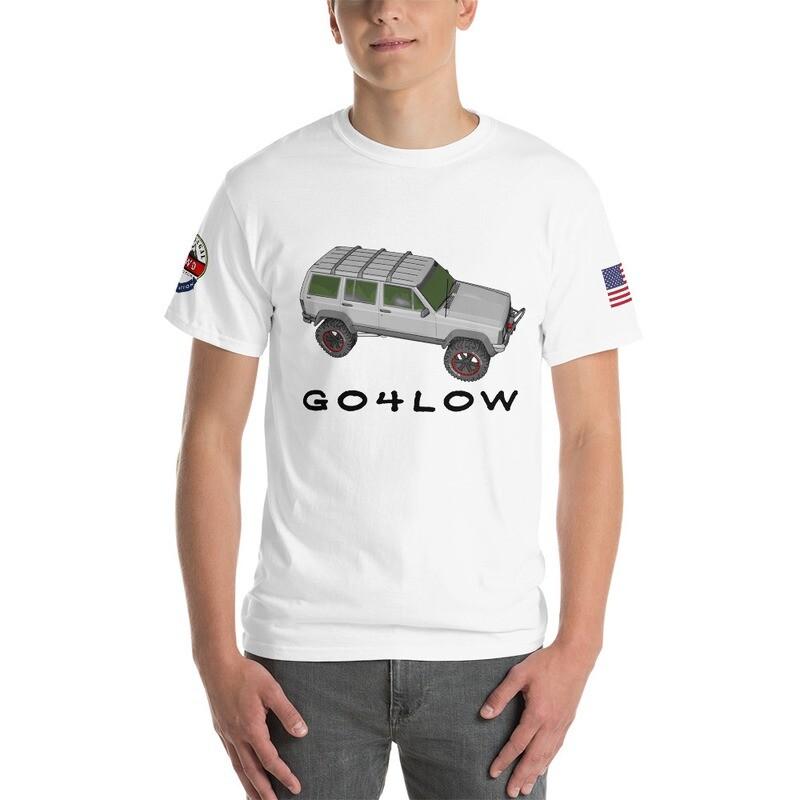Cherokee Go4Low USA RL4WD Short Sleeve T-Shirt