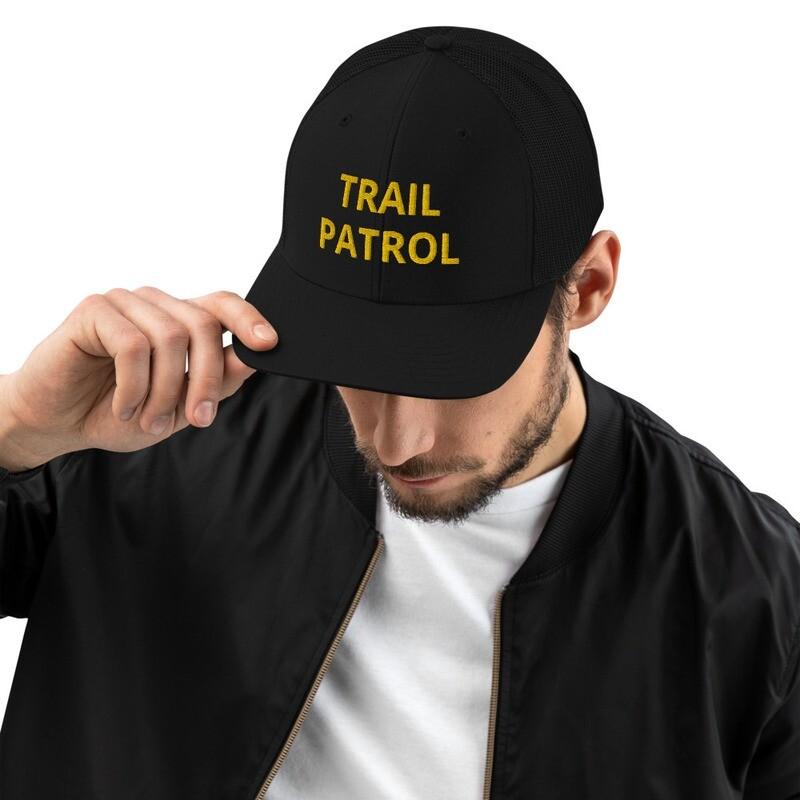 Trail Ambassador 3D Text Trucker Cap