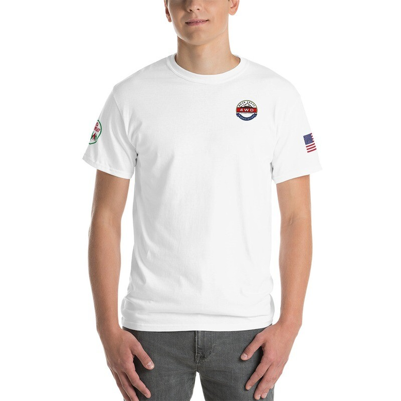 RL4WD Sinawa Glacial USA Short Sleeve T-Shirt