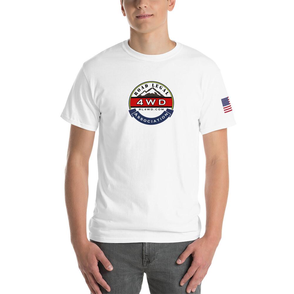 RL4WD Front USA Short Sleeve T-Shirt
