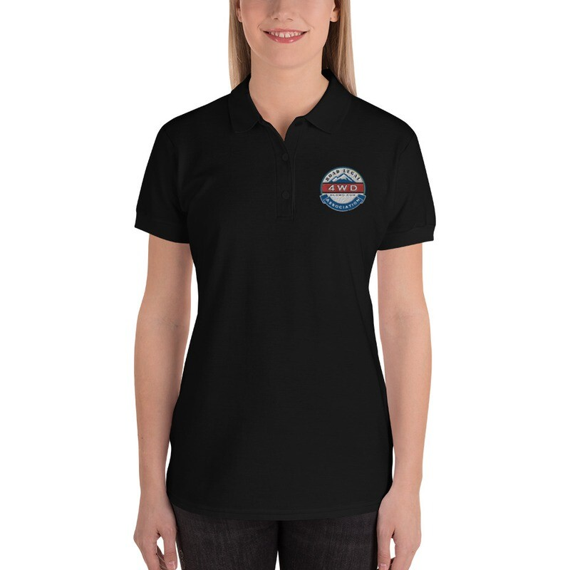 RL4WD Embroidered Women's Polo Shirt
