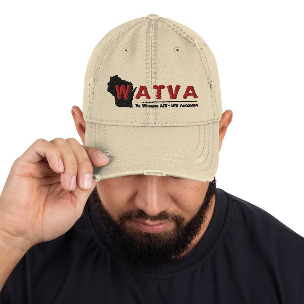 Distressed WATVA Hat