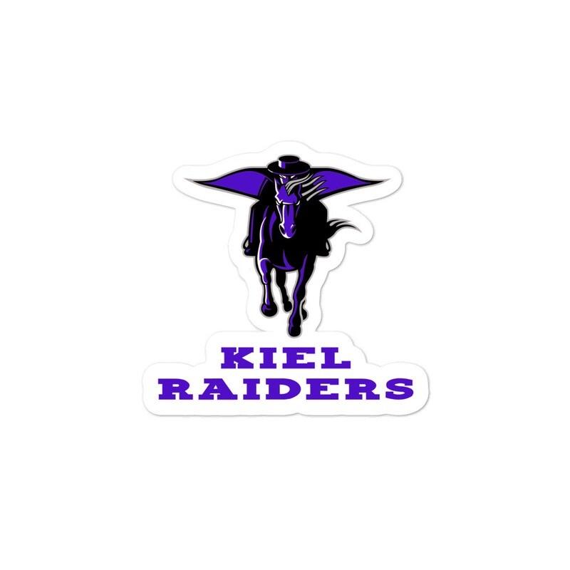 Bubble-free Kiel Raiders stickers