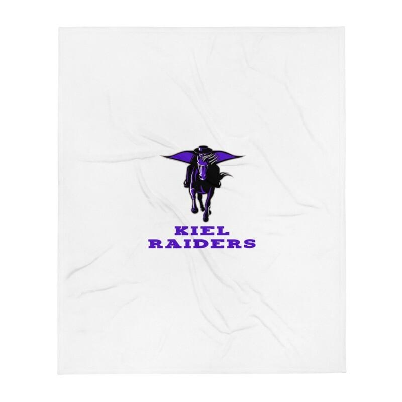 Kiel Raiders Throw Blanket