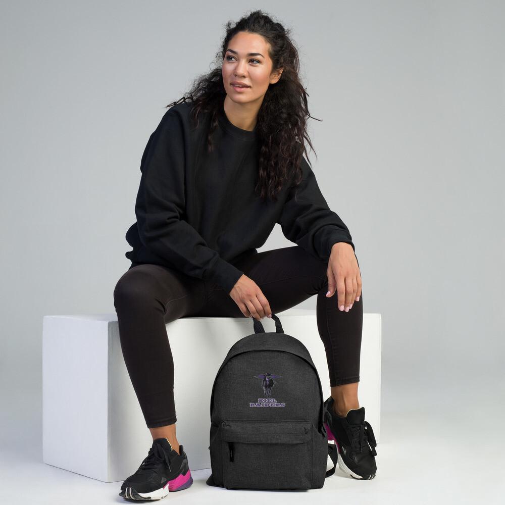 Kiel Raiders Embroidered Backpack