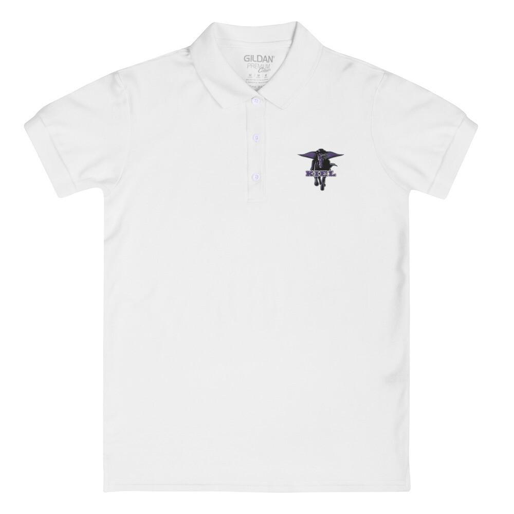 Kiel Raiders Embroidered Women's Polo Shirt